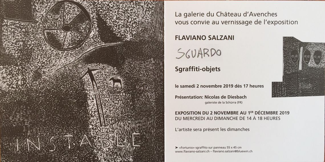 vernissage - Flaviano Salzani